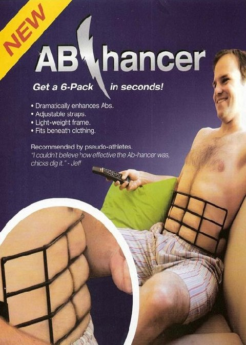 6pack abs ad, ab enhancer, testing it out, body image issue, men, mindful fitness, mind fit move, mindfitmove, mindfulness