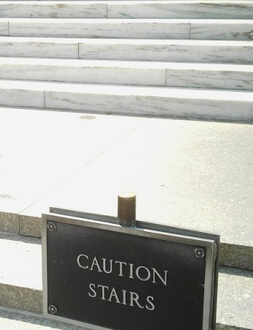 Caution Stairs, Why I'm Not As Smart As I Thought - 4 Rules To Make More Connection, connection, communication, challenges, listen, heart connection, talk to anyone, conversation skills,