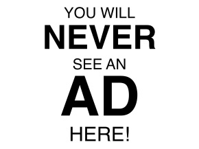Why I Don't Like Advertising