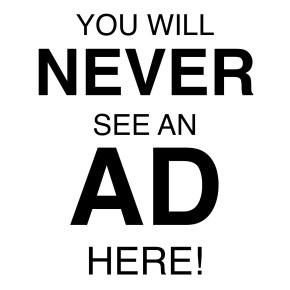 Why I Don't LikeAdvertising